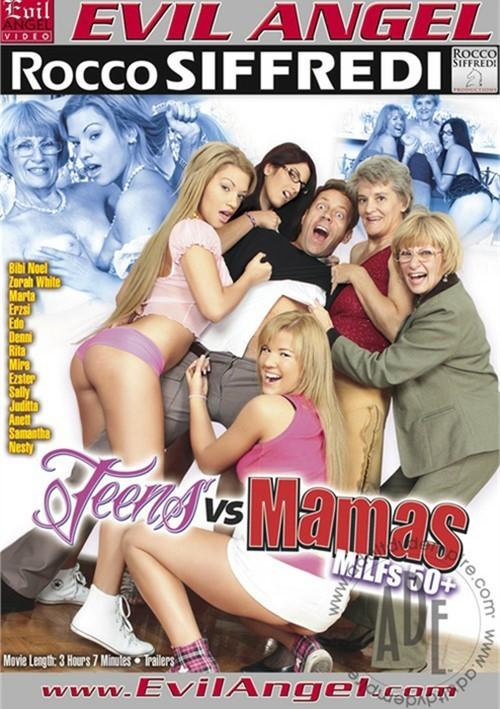 Teens VS. Mamas: MILFs 50+